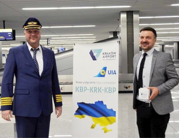 UIA Launches Flights From Kyiv To Krakow